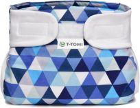 T-TOMI Abdukční kalhotky (3-6 kg) – blue triangles