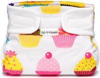 T-TOMI Abdukční kalhotky (3-6 kg) – cupcakes