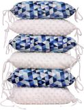 T-TOMI Ochraniacz do łóżeczka poduszkowy – blue triangles