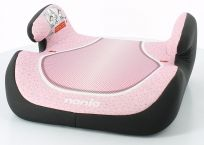 NANIA Topo Comfort (15-36 kg) Siedzisko samochodowe – Skyline Pink