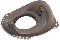 G-MINI Protišmykový adaptér na WC Krtko a dáždnik, hnedá