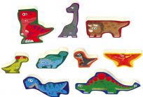 WIKY Puzzle dinosaury