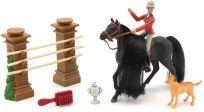 WIKY Koń z dżokejem