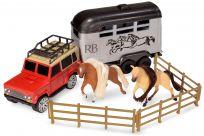 WIKY Koně s přepravním vozem