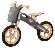 KINDERKRAFT Cykloodrážedlo Runner s doplňky (zvonek+taška) – Nature