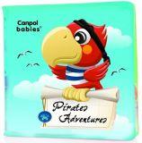 CANPOL BABIES Měkká knížka pískací – piráti