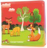 CANPOL BABIES Měkká knížka pískací – zviřátka