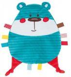 CANPOL BABIES Plyšový mazlíček Forest Friends – modrý medvěd