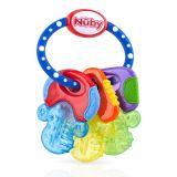NUBY Kousátko s chladivým gelem klíče 3m+