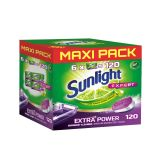 SUNLIGHTt All in 1 Extra Power Mega Pack Tablety do myčky 120 ks