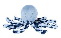 NATTOU První hračka miminka chobotnička PIU PIU Lapidou navy blue 0 m +