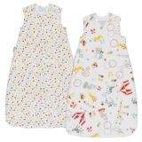 GRO Vak spací  Roll Up Wash & Wear Twin Pack 2.5 Tog 6-18m GRObag