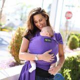 BOBA Nosič dětí / šátek Wrap - Purple