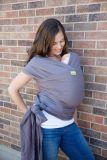 BOBA Nosič dětí / šátek Wrap Organic - Dark Gray