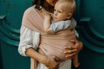 BOBA Nosič dětí / šátek Wrap Bamboo Bloom