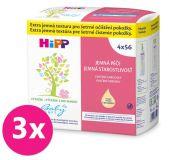 3x HIPP Babysanft Čistící vlhčené ubrousky (4 x 56 ks)