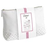 DOVE Glowing dárkové balení s taštičkou -  sprchový gel, tělové mléko, deodorant