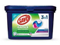 SAVO Universal Triona barevné i bílé prádlo (45 dávek) - kapsle na praní