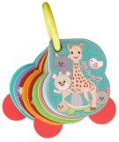 VULLI Kartičky s čísly na kroužku Žirafa Sophie