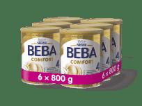 6x BEBA COMFORT 4 (800 g) - dojčenské mlieko