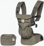ERGOBABY Detské nosidlo Omni 360 Cool Air Mesh - Khaki Green New