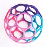 OBALL Zabawka 10 cm 0m+ – różowo-fioletowa