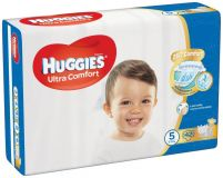 HUGGIES® Ultra Comfort Jumbo 5 (16-25 kg) 42 szt. – pieluchy jednorazowe