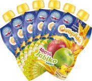 6x OVOCŇÁK Mušt jablko 100% 200 ml - ovocná šťava