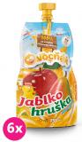 6x OVOCŇÁK Mošt jablko-hruška 250 ml - ovocná šťáva