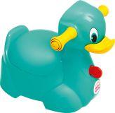 OK BABY Nočník Quack tyrkysová 72