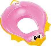 OK BABY Redukce na WC Ducka růžová 66