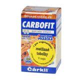 DACOM N Carbofit aktívne rastlinné uhlie tobolky 60 ks