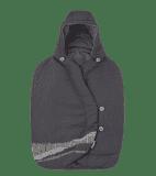MAXI-COSI Uniwersalny śpiworek do fotelika samochodowego – Frequency Black 2019