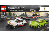 LEGO® SPEED CHAMPIONS 75888 Porsche 911 RSR a 911 Turbo 3,0