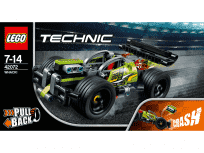 LEGO® Technic 42072 Żółta wyścigówka