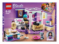 LEGO® FRIENDS 41342 Ema a její luxusní pokojíček