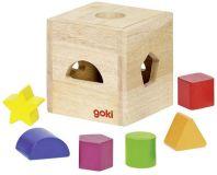 GOKI Sorter drewniany pudełko
