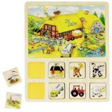 GOKI Dobrodružná didaktická hra – farma, cirkus