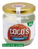 HEALTHLINK Bio kokosový olej 400ml