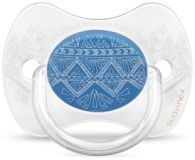 SUAVINEX Premium Dudlík fyziologický (0-4m) - tmavě modrě