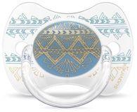 SUAVINEX Premium Dudlík fyziologický (4-18m) - světle modrý