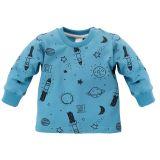 PINOKIO Tričko dlhý rukáv Big Dream vel. 80 – modré