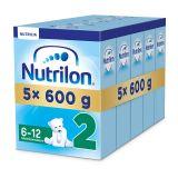 5x NUTRILON 2 (600g) – kojenecké mléko