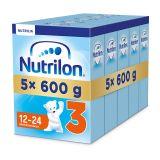 5x NUTRILON 3 (600g) – kojenecké mléko