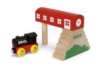 BRIO Nádraží na mostě + vláček