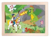 "WOODY Puzzle ""Princ Bajaja"""