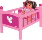 WOODY Postieľka pre bábiku s perinkami – Trendy