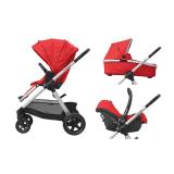 MAXI-COSI Wózek wielofunkcyjny 3w1 Adorra + Cabriofix – Nomad Red 2019