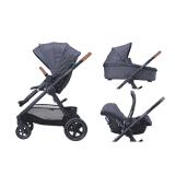MAXI-COSI Wózek wielofunkcyjny 3w1 Adorra + Cabriofix – Sparkling Blue 2019