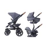MAXI-COSI Wózek wielofunkcyjny 3w1 Nova 4 + Cabriofix – Sparkling Blue 2019